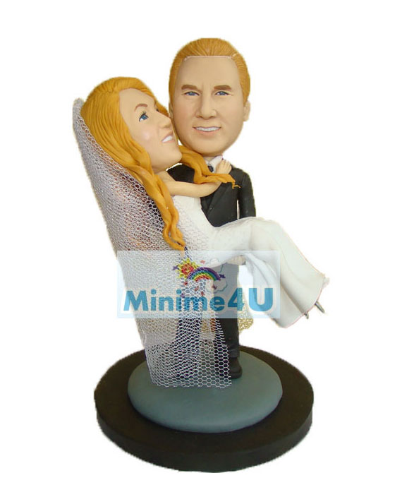 Wedding couple minime doll