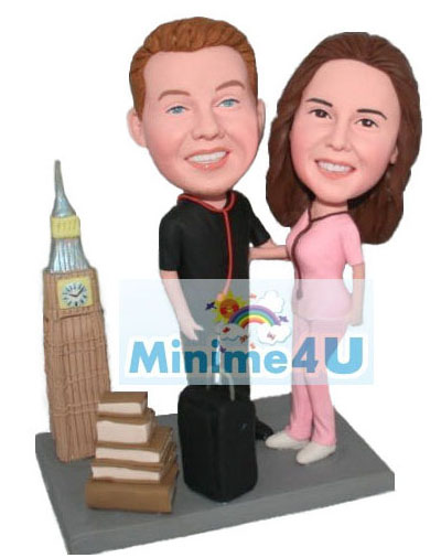 Mini me doll template for travelers