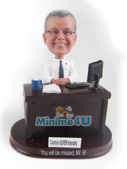 office man figure