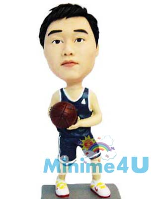 Basketball figurine template