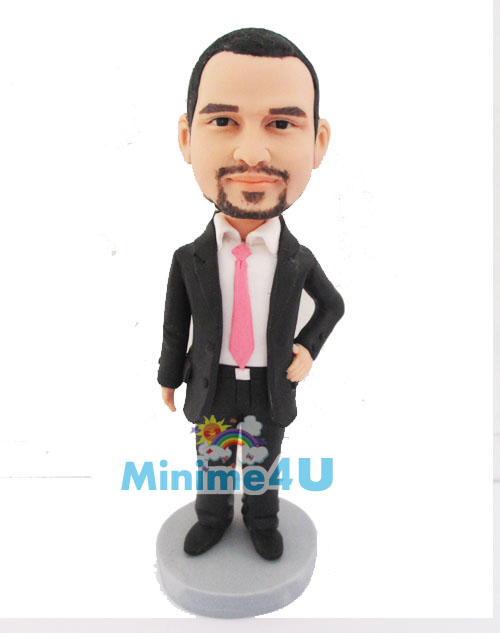 business man figure