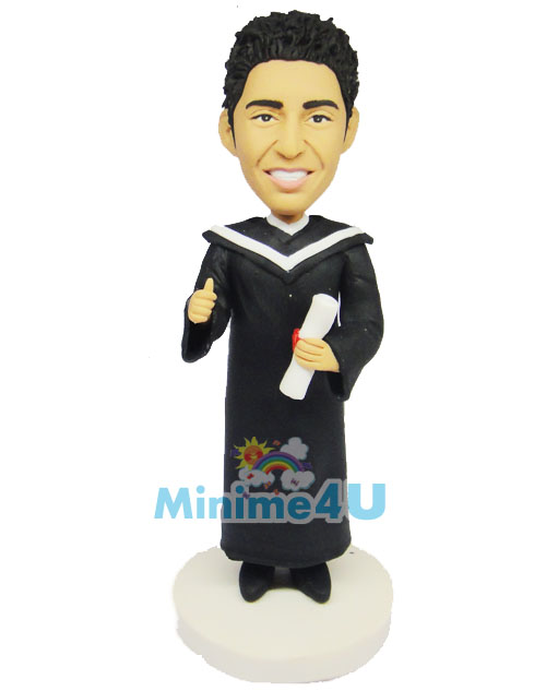 Graduation custom figure
