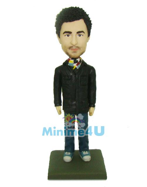 fashion man figurine