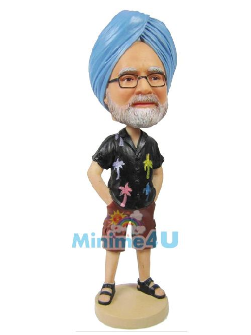 India man custom figure