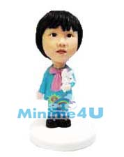 Lovely girl mini me doll