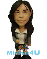 Career woman style mini me doll