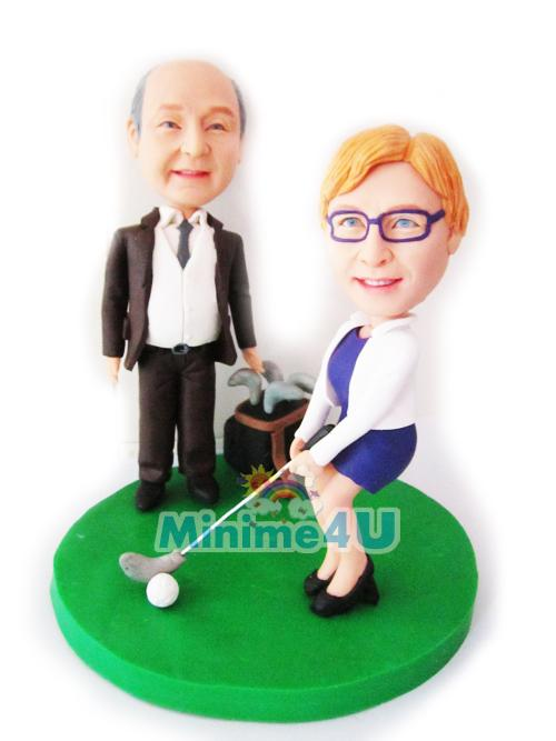 play golf together theme