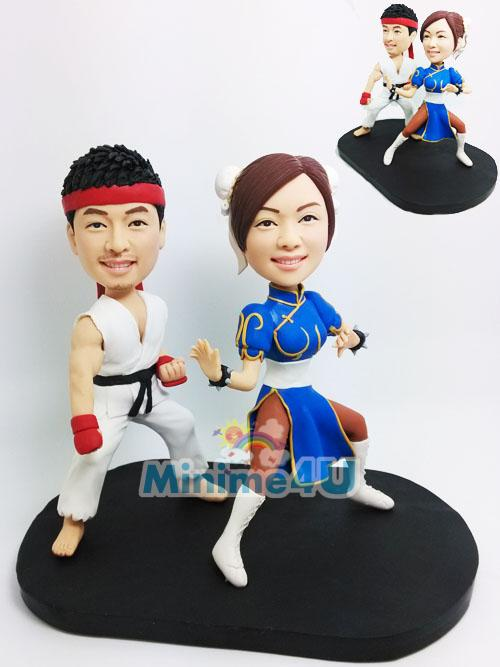 Street fighter wedding topper